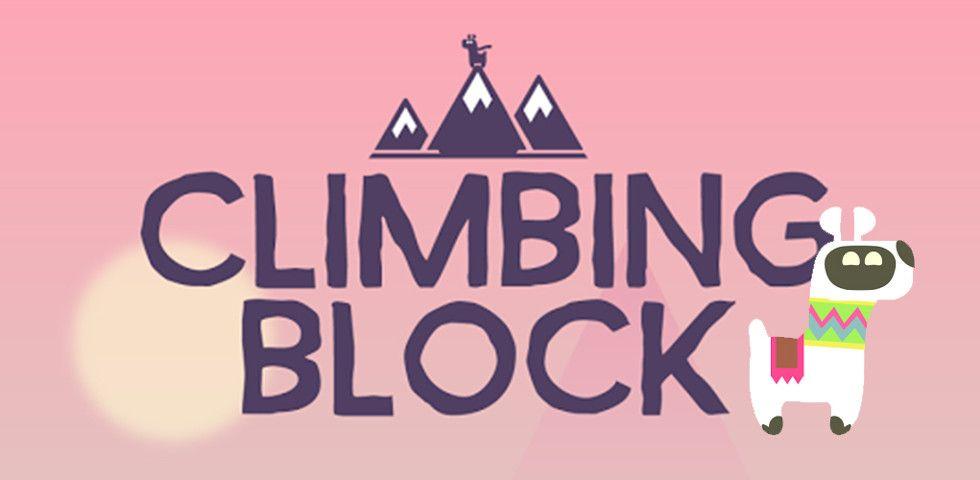 Climbing Block - Let's up Llama!